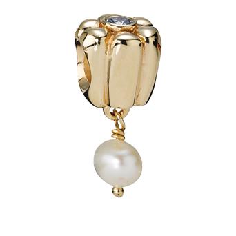pandora anhänger mit perle