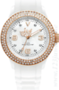 Ice Watch – Stone-Sili, weiss mit Gold, ST.WE.S.S.09