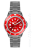 Ice Watch, Classic-Clear, rot, CL.RD.U.P.09
