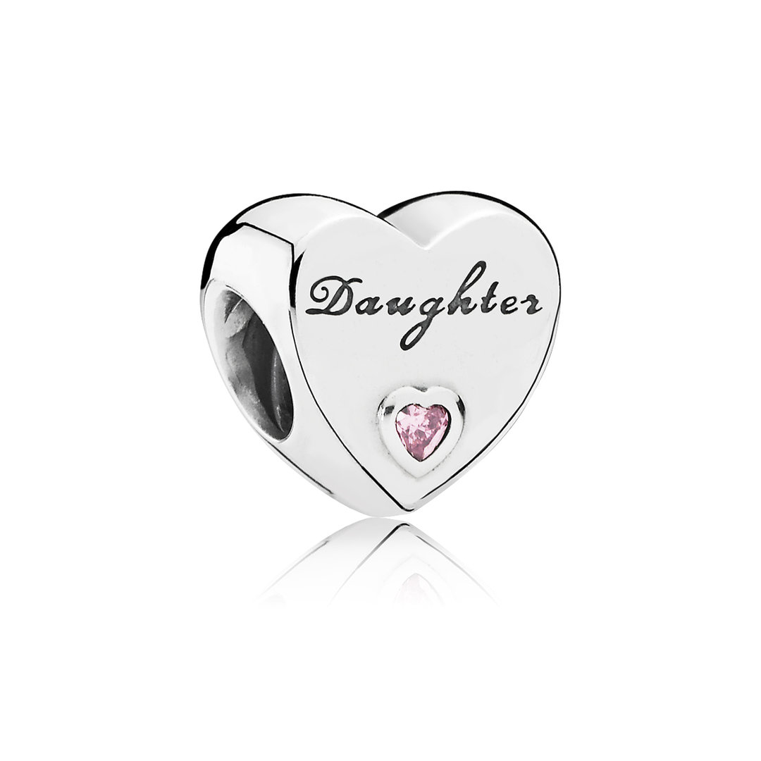 """Daughter-Herz"" Charm 791726PCZ"