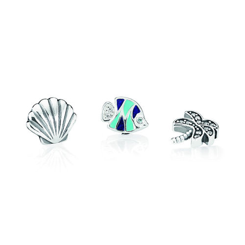 "Pandora Medallion-Set ""Tropisches Paradies""  792115CZ"