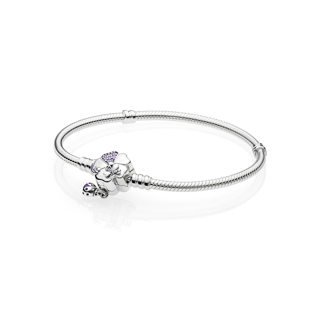 "Pandora Armband ""Wildflower Meadow Clasp"" 597124NLC"