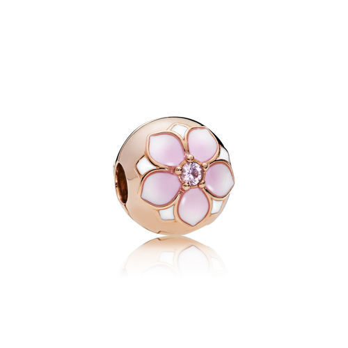 "Pandora Rose Clip ""Magnolia Bloom"" 782078NBP"