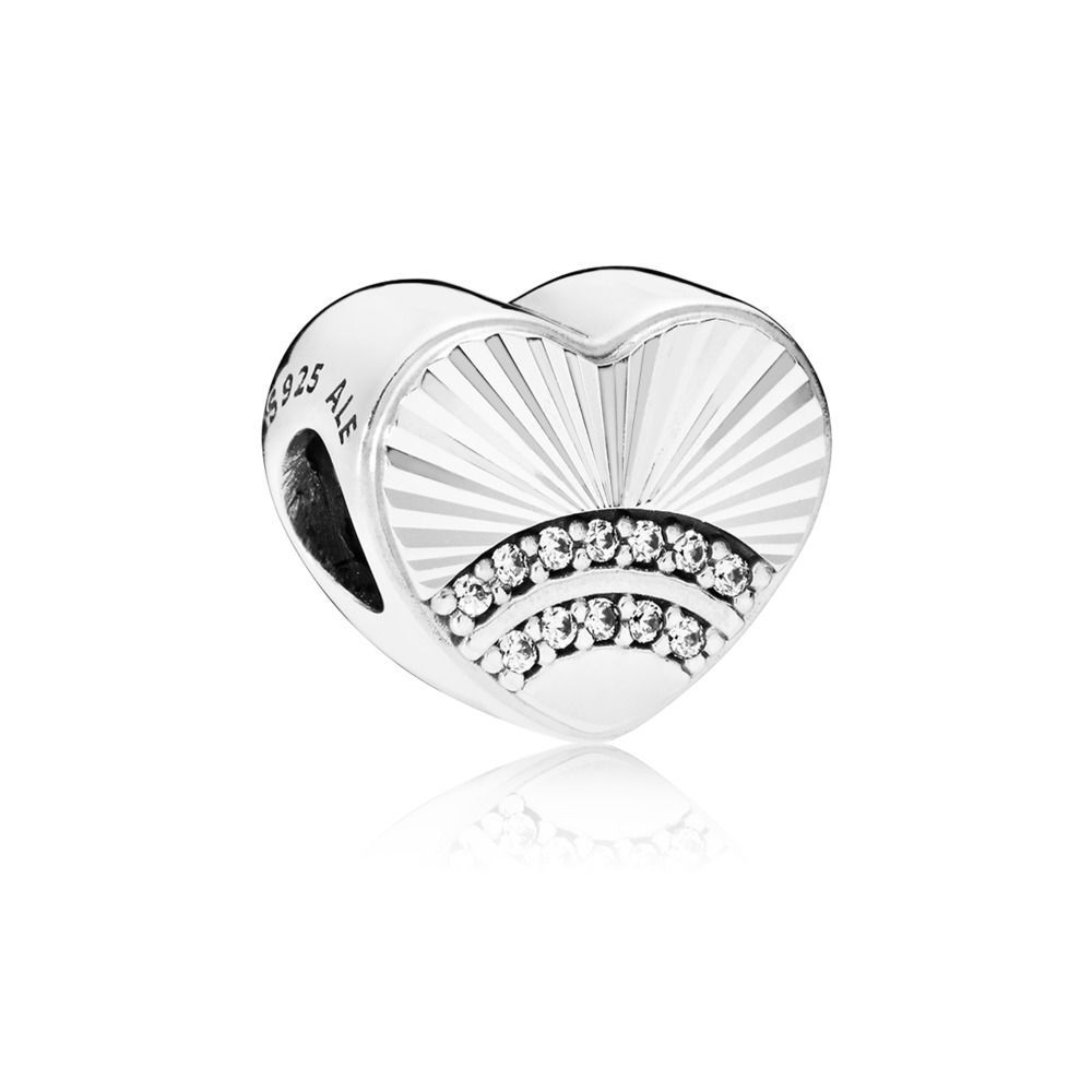 "Pandora Charm ""Fan of Love""  797288CZ"