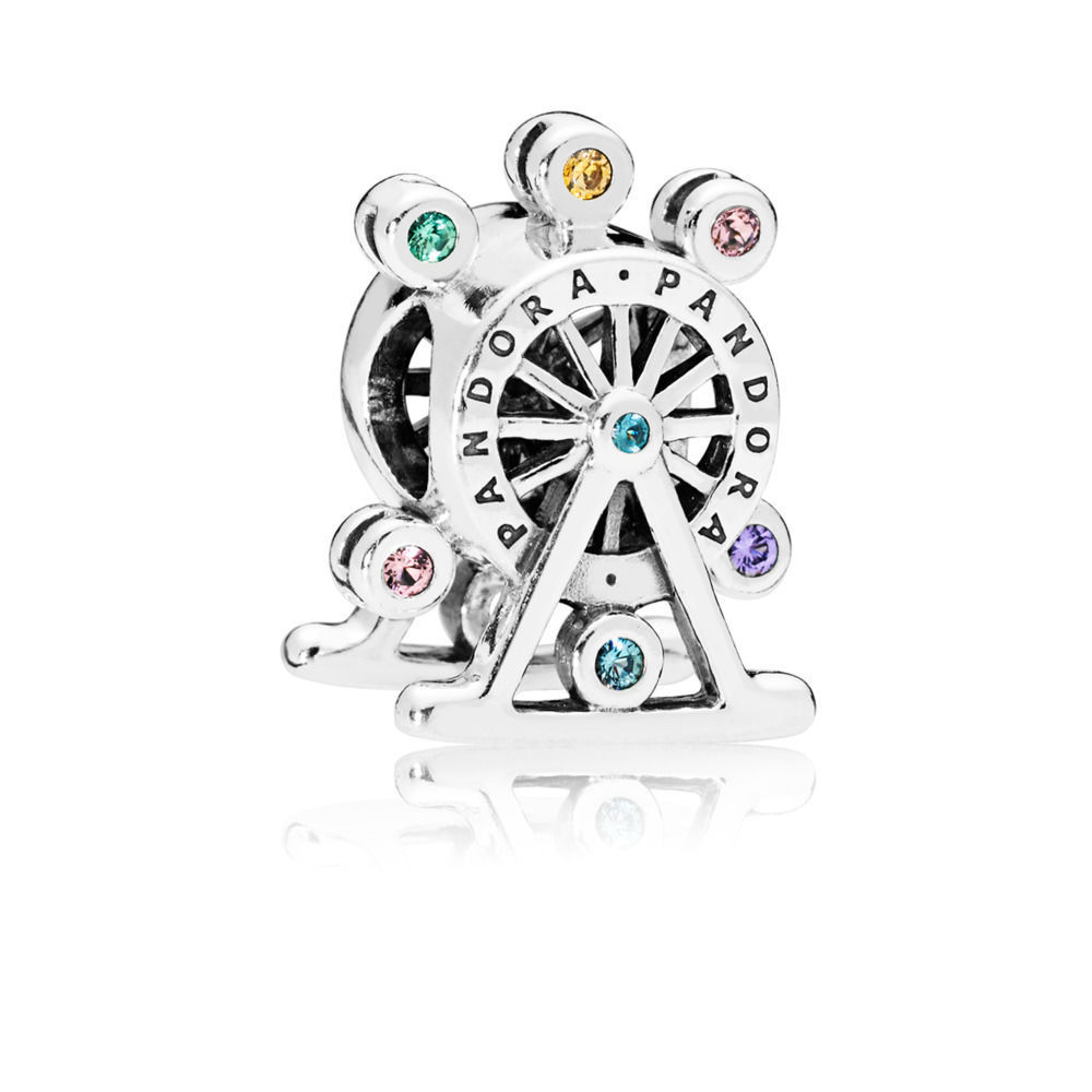 "Pandora Charm ""Color-Wheel"" 797199NLCMX"