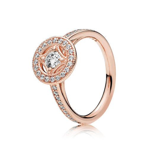 "Pandora Rose ""Vintage Allure"" Ring 181006CZ"