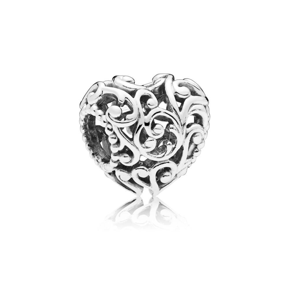 "Pandora Charm ""Regal Heart"" 797672"