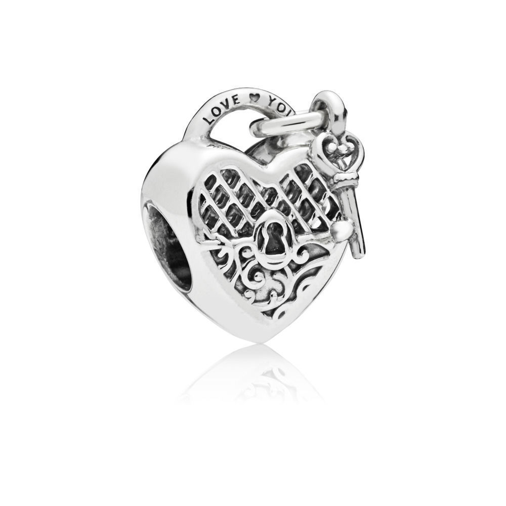 "Pandora  Charm ""Love You Lock""  797655"