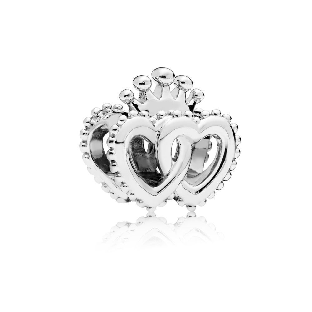 "Pandora Charm ""United Regal Hearts"" 797670"