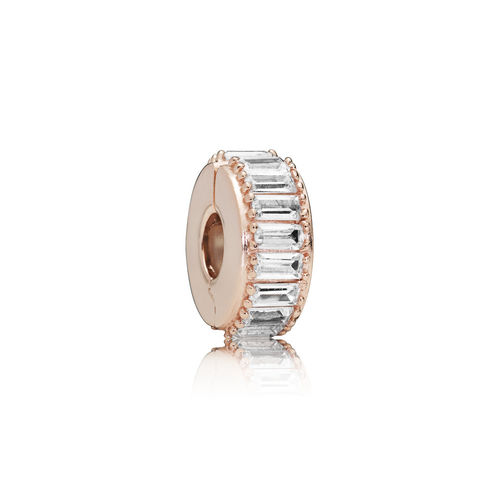 "Pandora Rose Clip ""Ice Formation""  787559CZ"