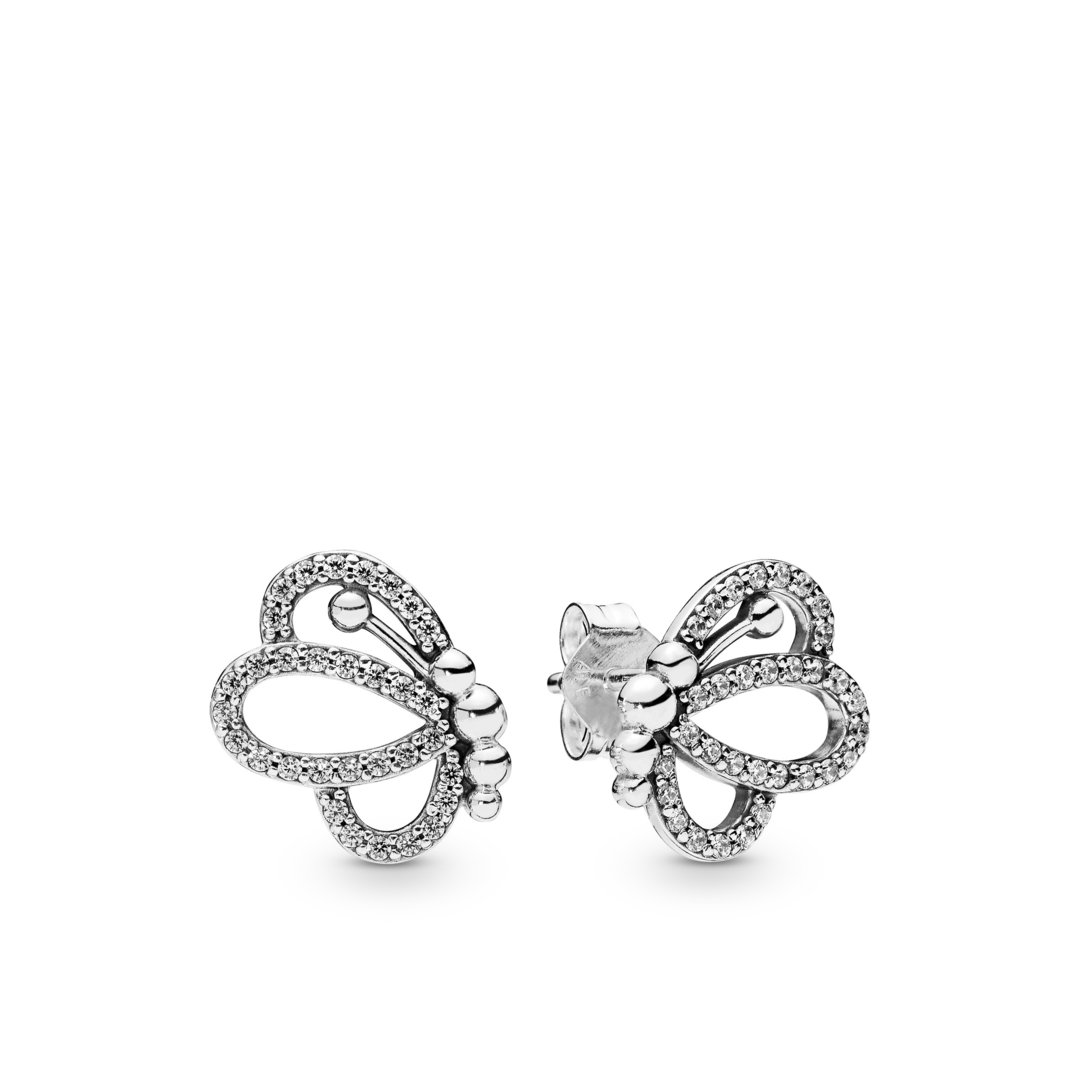 "Pandora Ohrstecker ""Butterfly Outlines"" 297912CZ"