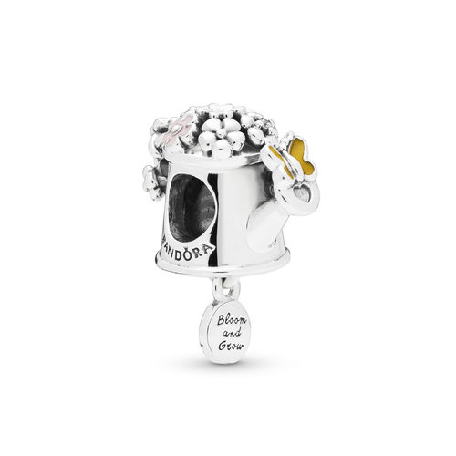 "Pandora Charm ""Blooming Watering Can"" 797873ENMX"