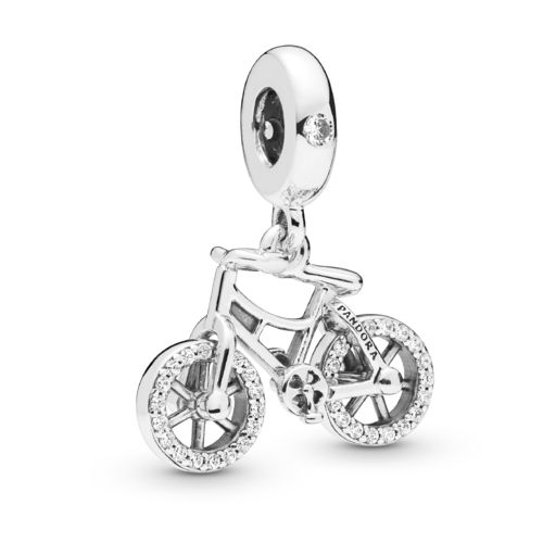 "Pandora Charm-Anhänger ""Brilliant Bicycle"" 797858CZ"