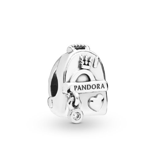 "Pandora Charm ""Adventure Bag"" 797859CZ"