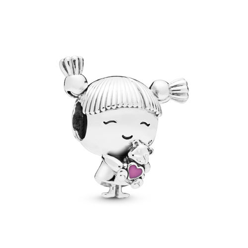 "Pandora Charm ""Girl with Pigtails"" 798016EN160"