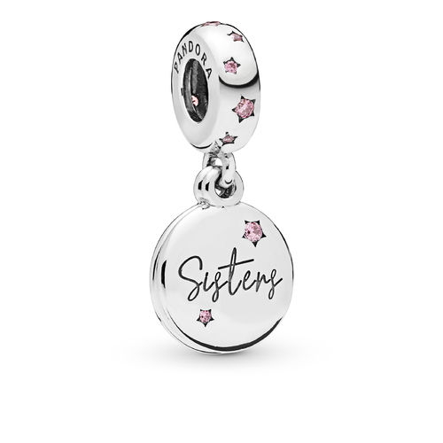 "Pandora Charm-Anhänger ""Forever Sisters"" 798012FPC"