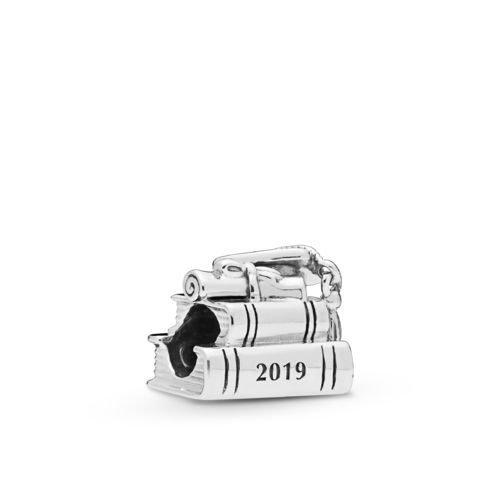 "Pandora Charm ""Cap, Book & Scroll"" 798034"