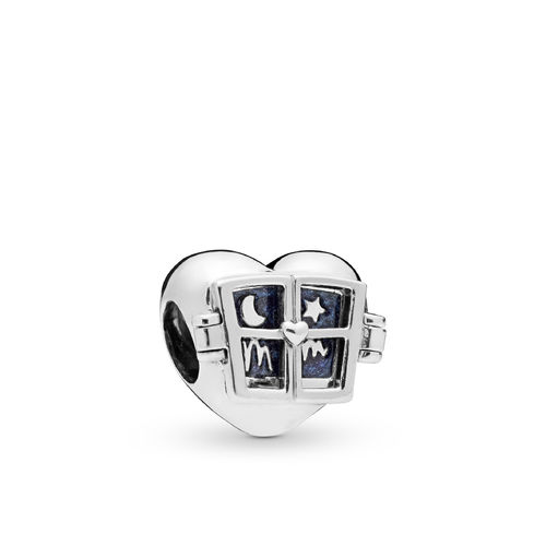 "Pandora Charm ""Window Heart"" 798006EN63"