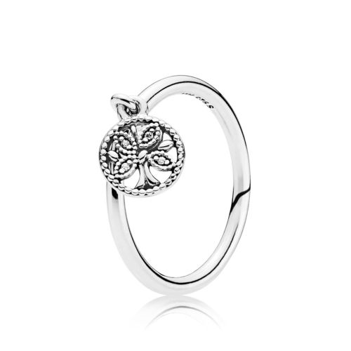 "Pandora Ring ""Tree of Life"" 197782CZ"