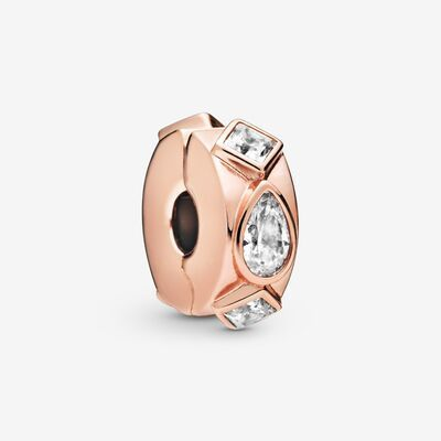 "PANDORA ROSE  ""Geometric Shapes"" Clip-Charm 788429C01"