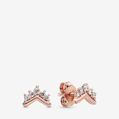 PANDORA ROSE Diadem-Wishbone Ohrringe