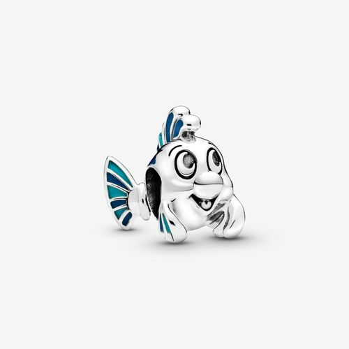 "PANDORA DISNEY ""The little Mermaid Flounder Fabious"" Charm"