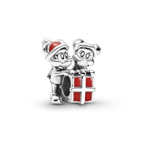 "Pandora Disney ""Micky Maus and Minnie Maus Geschenk Charm "" 799194C01"